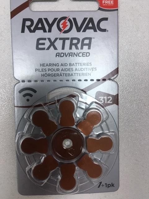 Батарейки для слухових апаратів № 312, блыстер  8 штук. Ціна 120 грн