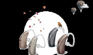 Новые заушные слуховые аппараты Phonak Bolero