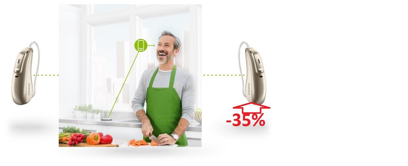 Знижа 35% на другий слуховийапарат